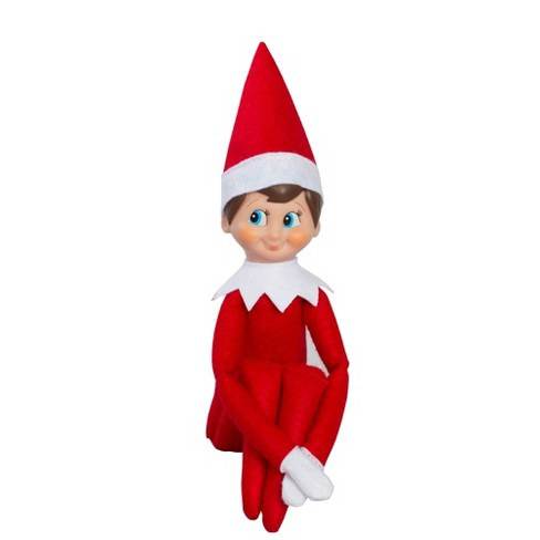 the elf on the shelf a christmas tradition with light skin tone