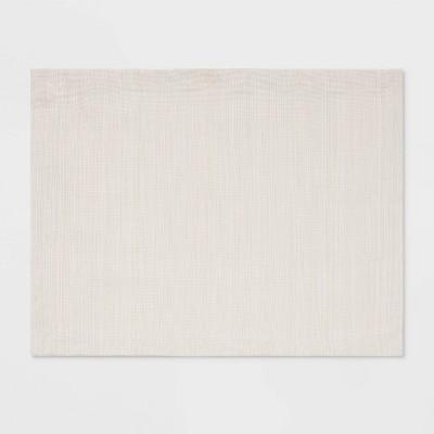 Cotton Solid Placemat Cream - Threshold™
