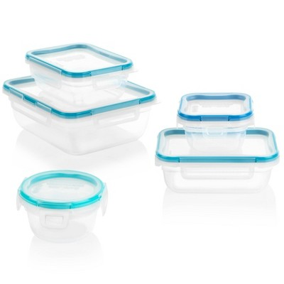 Snapware Total Solution Plastic Container Set - 10pc