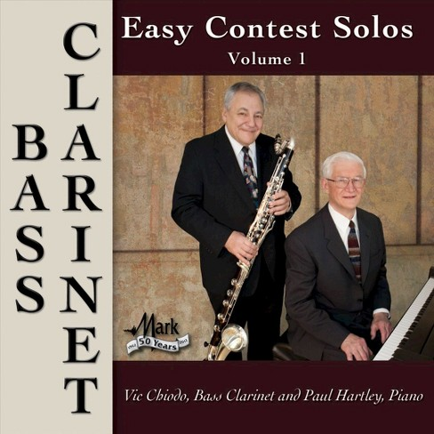 Victor chiodo - Easy contest solos bass clarinet v1 (CD) - image 1 of 2