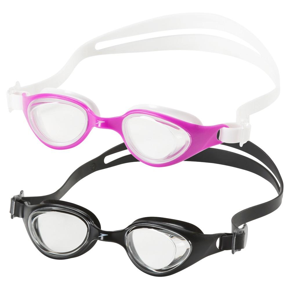 Speedo Scuba Junior Goggle 2-Pack (Black/Purple)