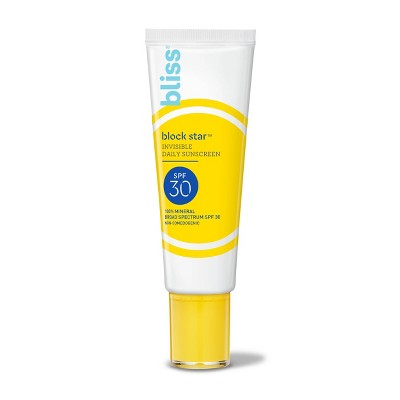 bliss Block Star Invisible Daily Sunscreen - 1.4 fl oz