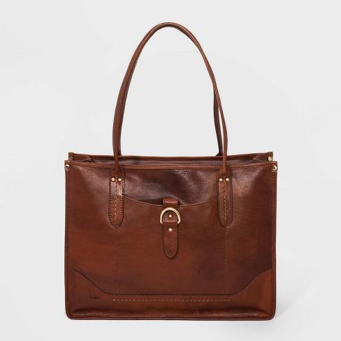 Bolo Large City Tote Handbag - Brown - image 1 of 4