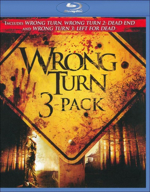Wrong turn 3 pack (Blu-ray) - image 1 of 1
