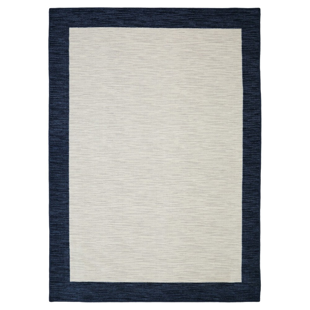 Image of 5'X8' Shapes Area Rug Navy (Blue) - Mohawk