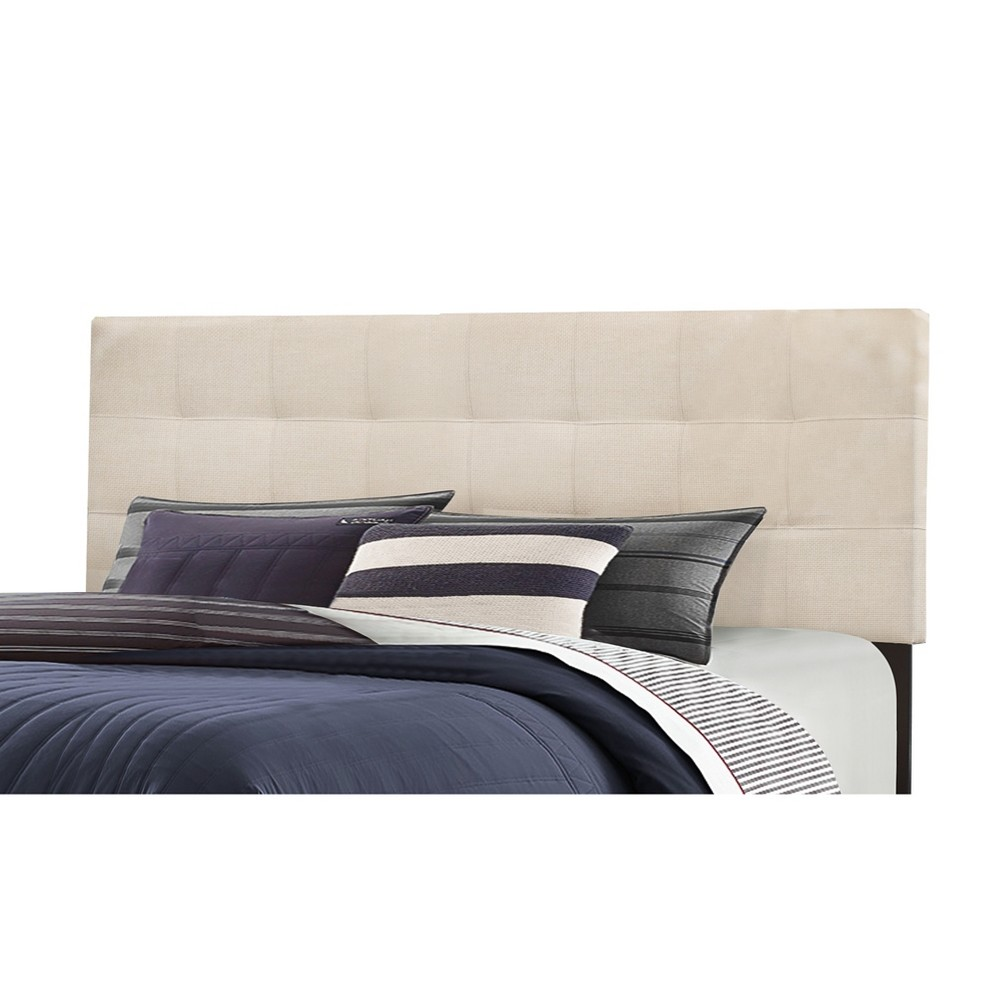 Full/Queen Delaney Headboard Frame Included Linen - Hillsdale Furniture