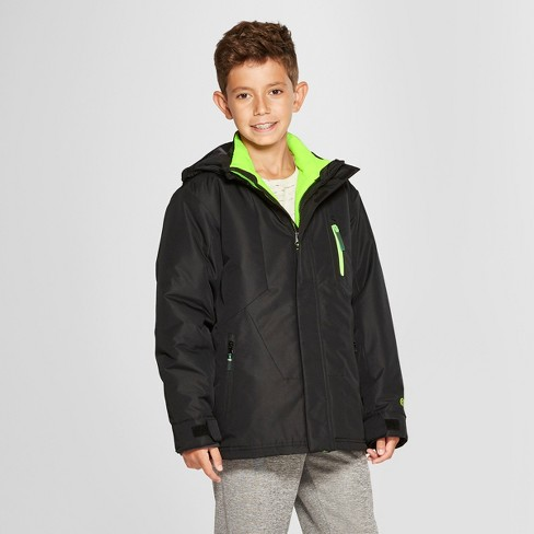 3b21a19ce Boys  3-in-1 Reversible System Jacket - C9 Champion® Black   Target