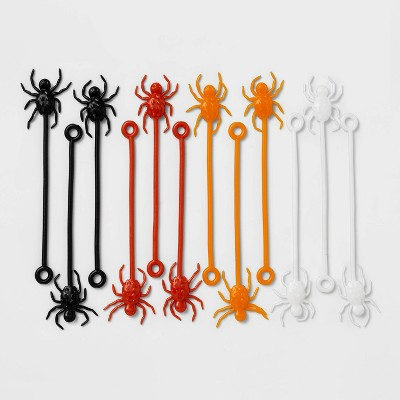 12ct Sticky Spider Halloween Party Favors - Hyde & EEK! Boutique™