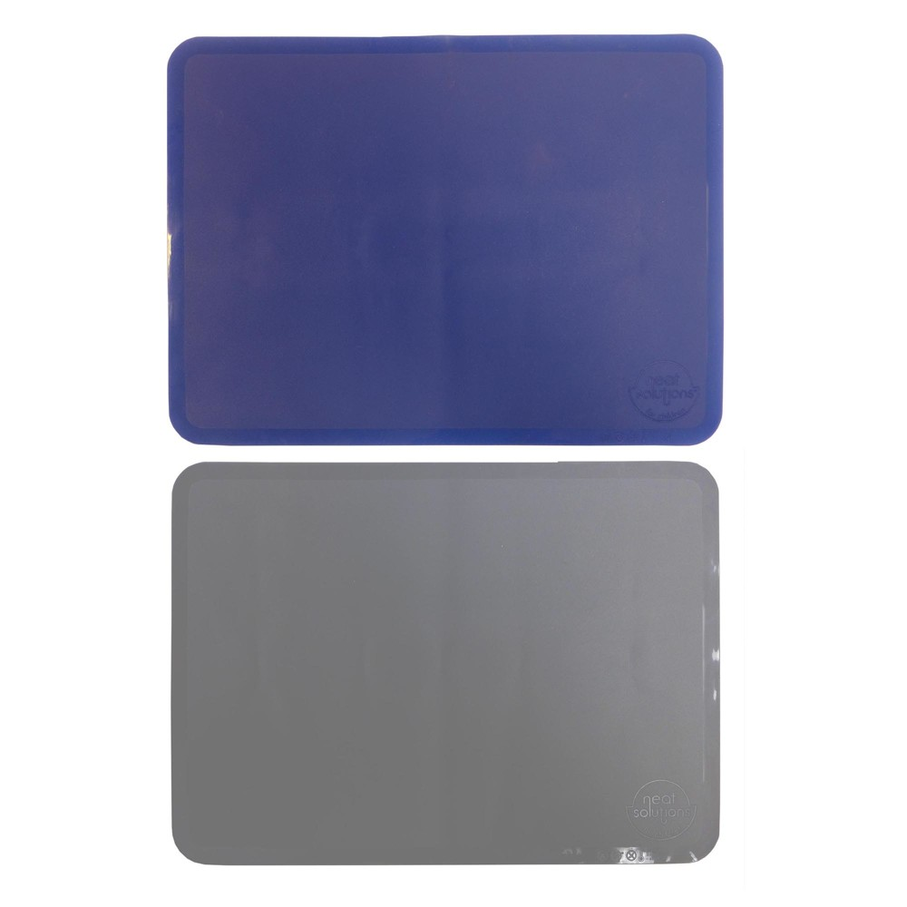 Image of Neat Solutions 2pk Sili-Stick Table Topper - Blue