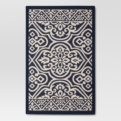 Blue Floral rugs (1'8 x2'10 )- Threshold™