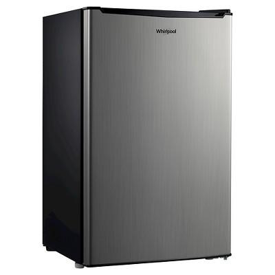 Whirlpool 3.5 Cu. Ft. Mini Refrigerator - Stainless Steel