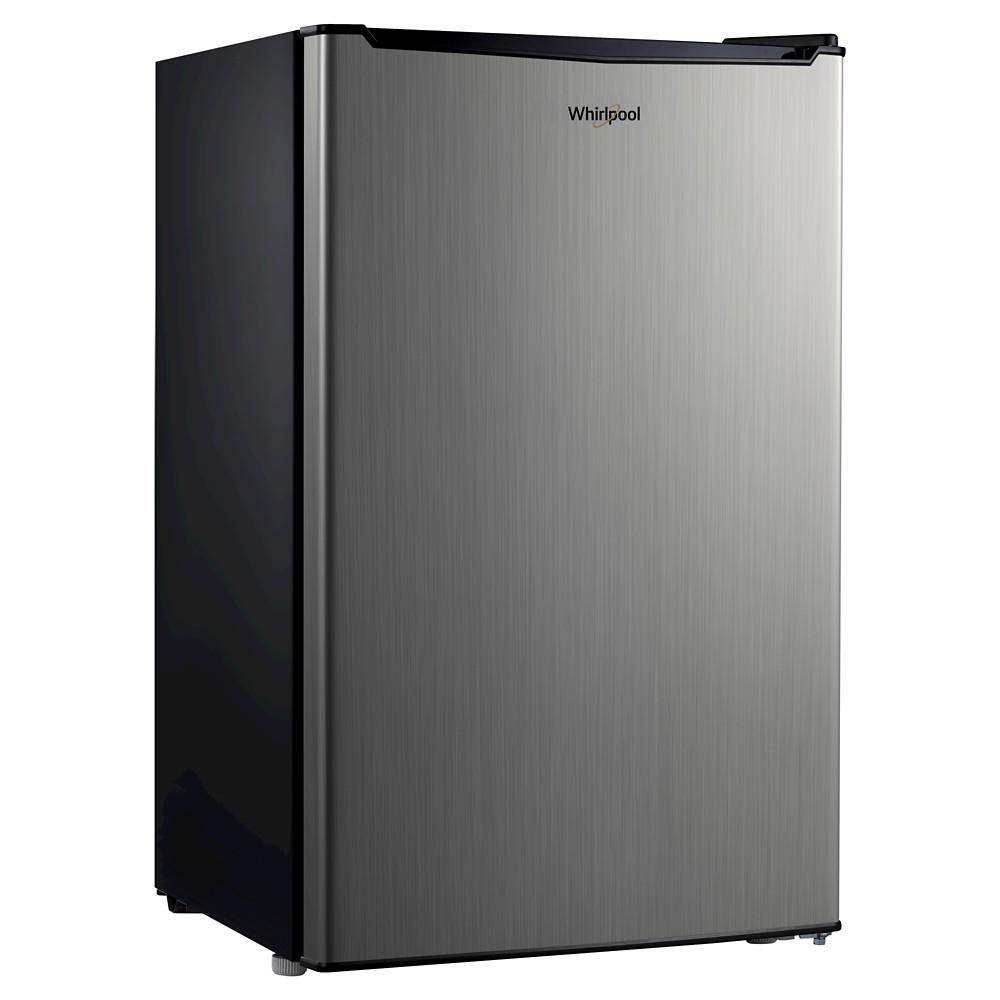 Whirlpool 3.5 cu. ft Mini Refrigerator - Stainless Steel (Silver)