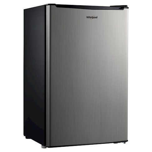 Whirlpool 3.5 Cu. Ft. Mini Refrigerator - Stainless Steel - image 1 of 3