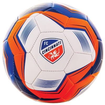 MLS FC Cincinnati Size 5 Soccer Ball