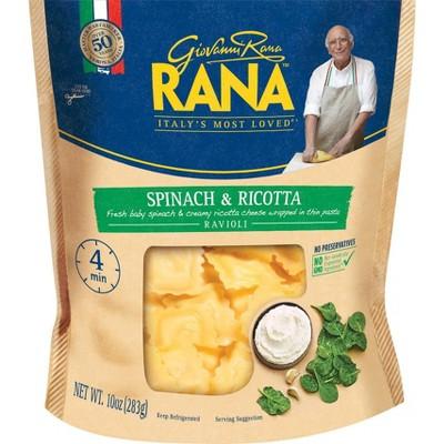 Rana Ravioli Spinach & Ricotta Stuffed Pasta & Dumplings - 10oz