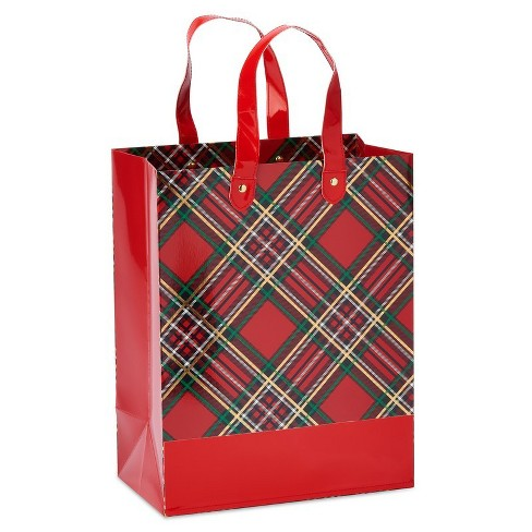 Papyrus Plaid Chic Large Gift Bag - image 1 of 4