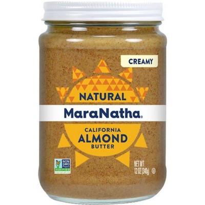 Peanut & Nut Butters: MaraNatha All Natural No Stir Almond Butter