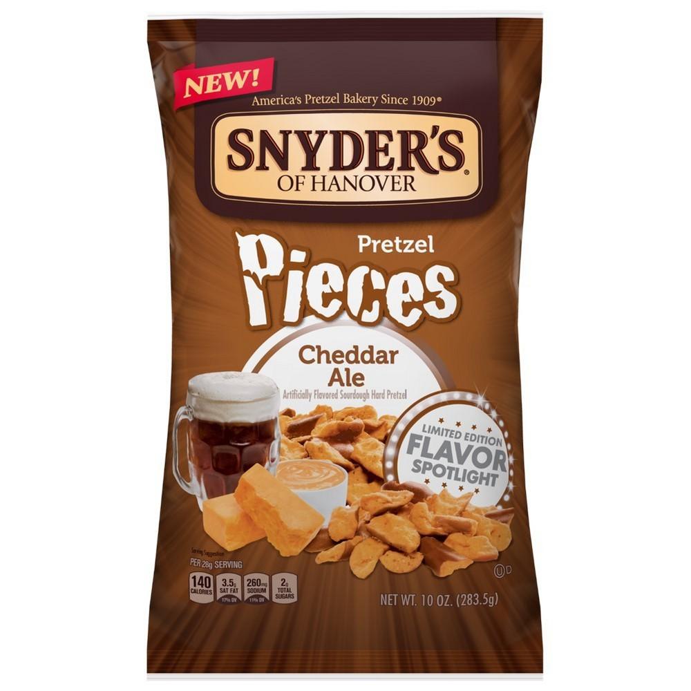 Snyder's Cheddar Ale Pretzel Pieces - 10oz