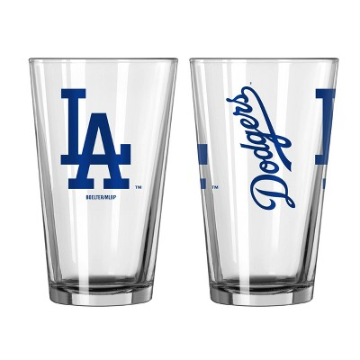MLB Los Angeles Dodgers Gameday Pint Glass - 16oz