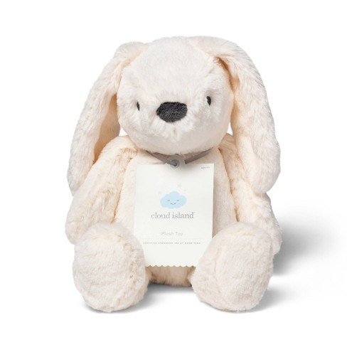 Plush Bunny Stuffed Animal - Cloud Island™ Cream - image 1 of 2