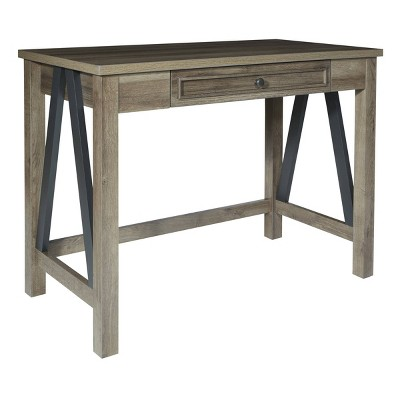 "42"" Braydon Writing Desk Gray Oak - OSP Home Furnishings"