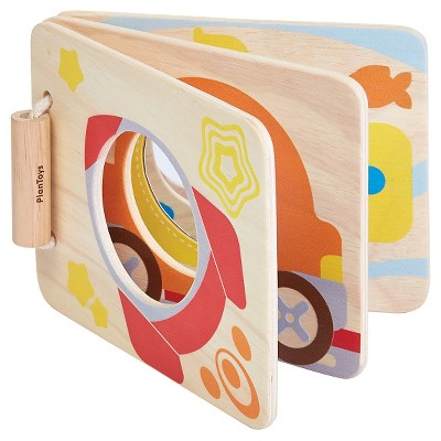 PlanToys Mirror Baby Book