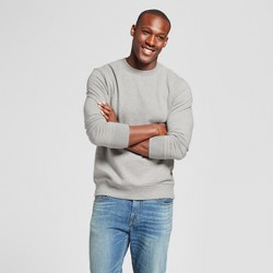 Men's Standard Fit Fleece Crew Neck Sweatshirt - Goodfellow & Co™