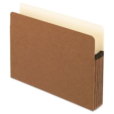 Pendaflex Smart Shield File Pocket Straight Cut 1 Pocket Letter Red Fiber 1534GAM