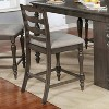 3pc Graves Padded Seat Kitchen Island Set - HOMES: Inside + Out - image 3 of 3