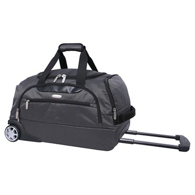 Skyline Rolling Duffel Bag - Gray