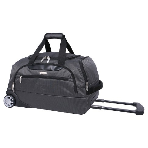 Skyline Rolling Duffel Bag Gray