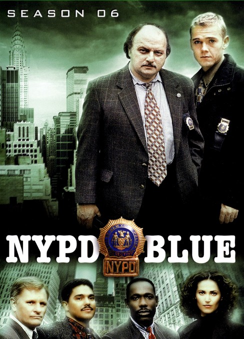 Nypd blue season 6 (DVD) - image 1 of 1