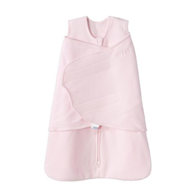 HALO Innovations Micro-Fleece Sleepsack Swaddle Wrap - Pink SM