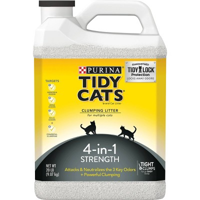 Cat Litter: Purina Tidy Cats 4-in-1 Strength