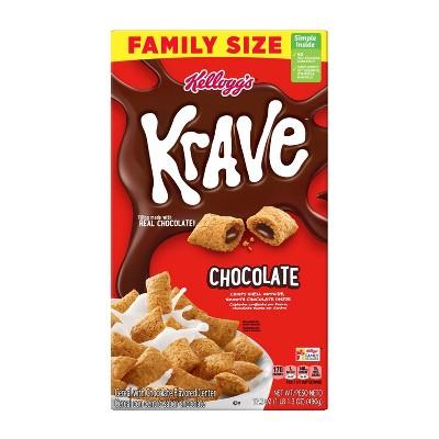 Krave Breakfast Cereal - 17.3oz - Kelloggs