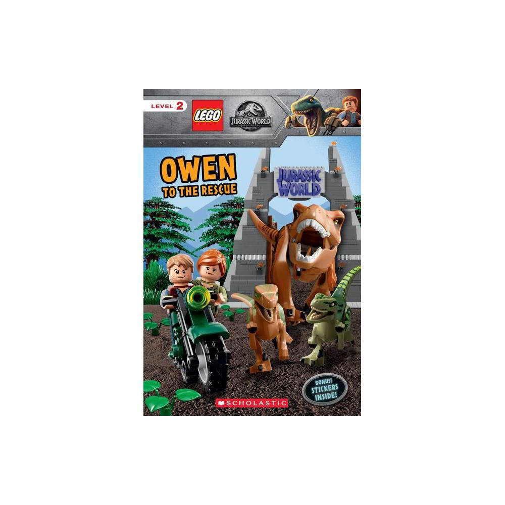 Owen To The Rescue Lego Jurassic World Reader With Stickers By Meredith Rusu Mixed Media Product