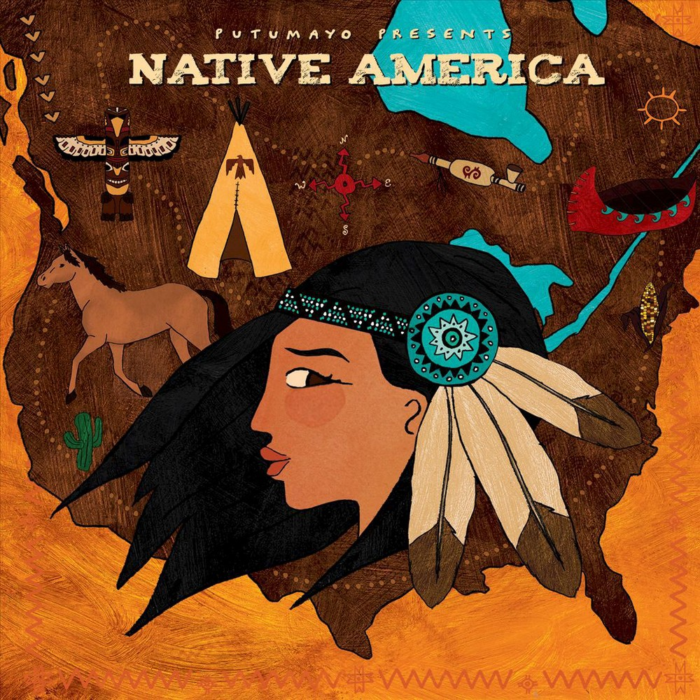 Putumayo Presents - Native America (CD) Disc 1 1. Miam Maikan - Florent Vollant 2. Mani-Utenam - Chlo' Sainte-Marie 3. First Morning [Putumayo Version] - Will Clipman/R. Carlos Nakai 4. Shine for You - Brianna Lea Pruett 5. Flying Free - Andrew Vasquez 6. Navvaatara - lisapie Isaac 7. All My Blessings - Jessica Martinez Maxey 8. Assikuman-Tetapuakan - Claude McKenzie 9. Wind Spirit - Bill Miller 10. Nendaa -- Go Back - Jerry Alfred