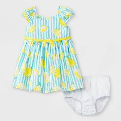 Mia & Mimi Baby Girls' Lemon Dress