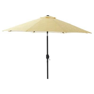 7.5' Outdoor/Indoor Herringbone Patio Market Umbrella - Pillow Perfect®