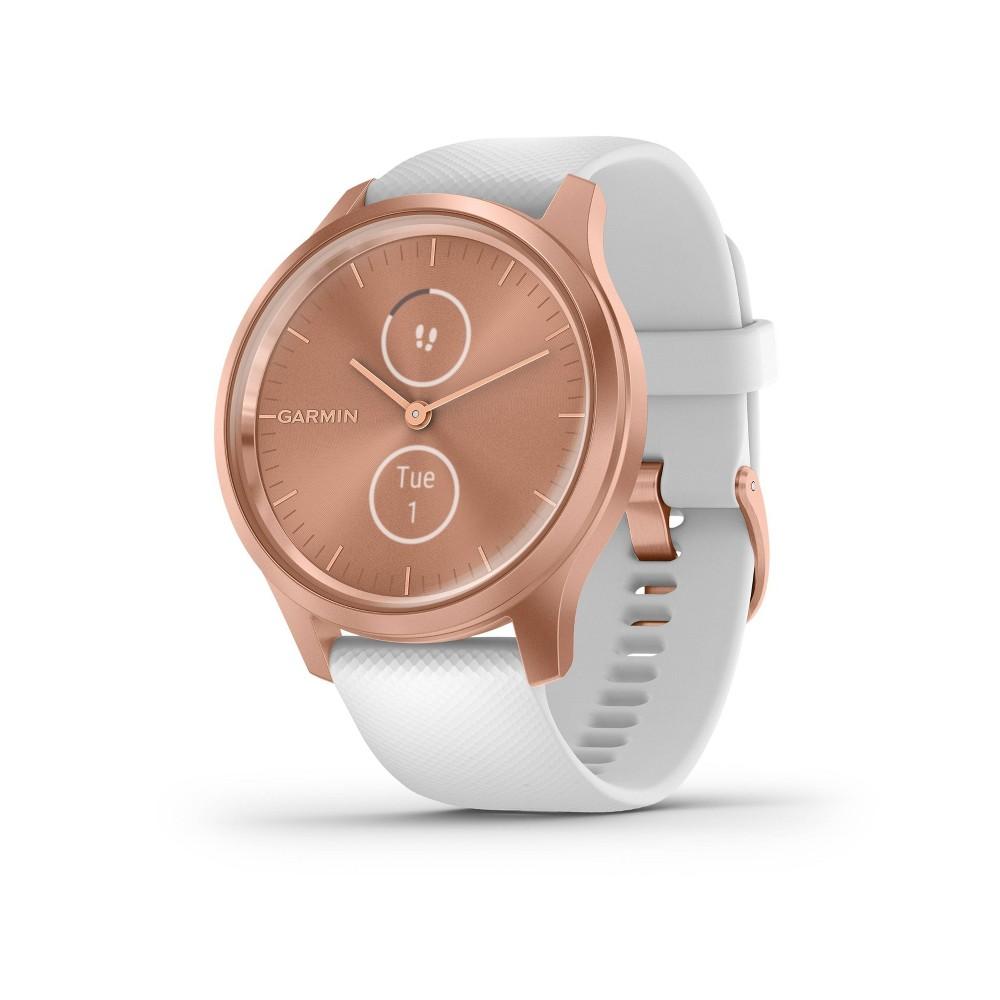 Garmin vivomove Style White with Rose Gold Hardware Buy