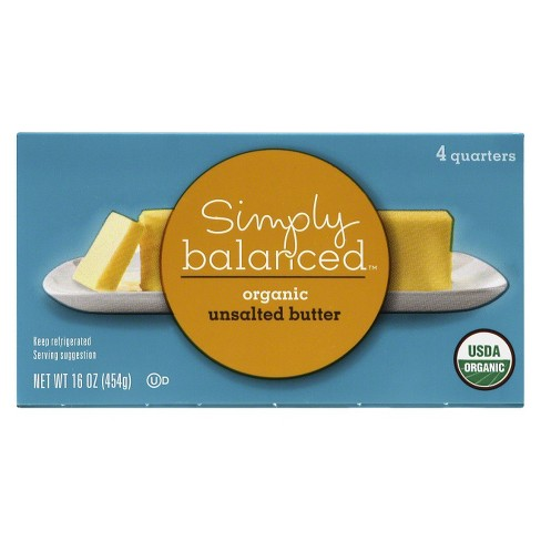 Organic Unsalted Butter - 1lb - Simply Balanced™ - image 1 of 1