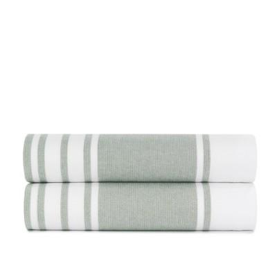 Mediterranean Towels Bath Towel - Set of 2 - Standard Textile Home