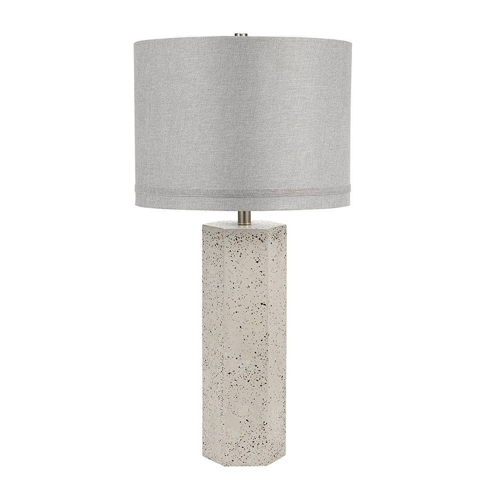 Image of Adina Table Lamp Gray - Cresswell Lighting