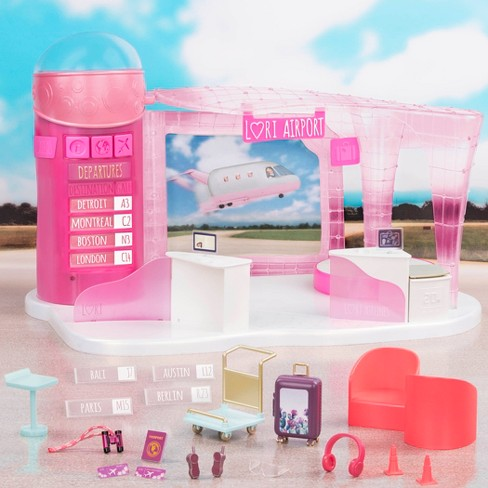 Lori Dolls Jetset Airways - Airport for 6-in Dolls - image 1 of 4