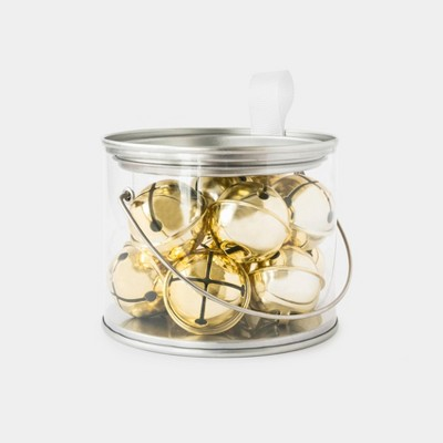 Gold Jingle Bells Container - Sugar Paper™