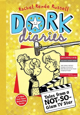Dork Diaries 7: Tales from a Not-So-Glam TV Star (Only at Target) (Exclusive cut-out art included!) by Rachel Renee Russell (Paperback)