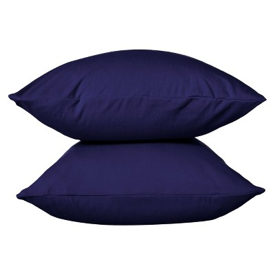 Jersey Pillowcase - (Standard)Solid Navy - Room Essentials™