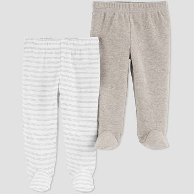 Baby 2pk Pull-On Pants - Just One You® made by carter's Brown 3M