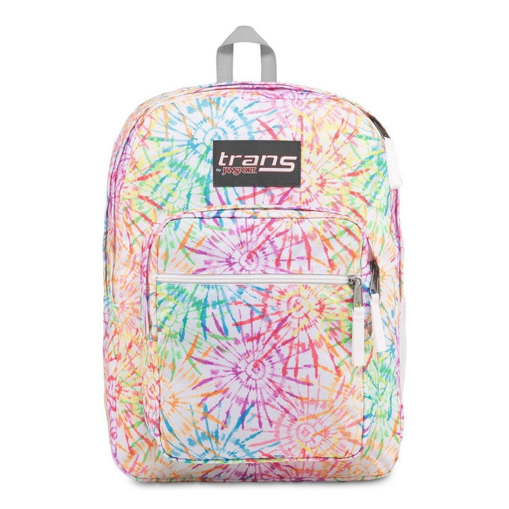 Trans by JanSport 17 Supermax Backpack - Tie Dizzle White was $35.99 now $10.79 (70.0% off)