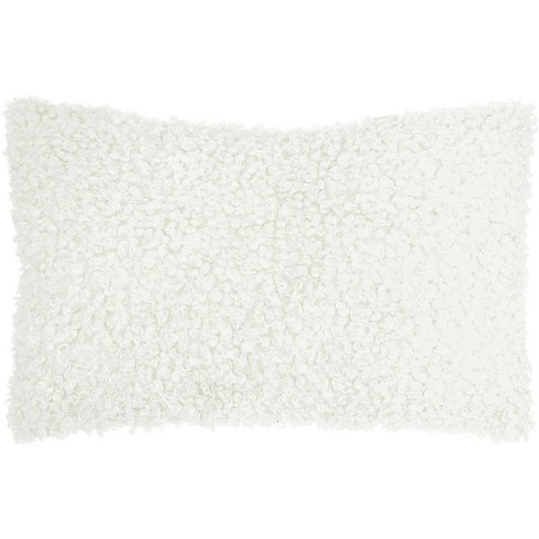 Nourison Curly Faux Fur Throw Pillow - image 1 of 4